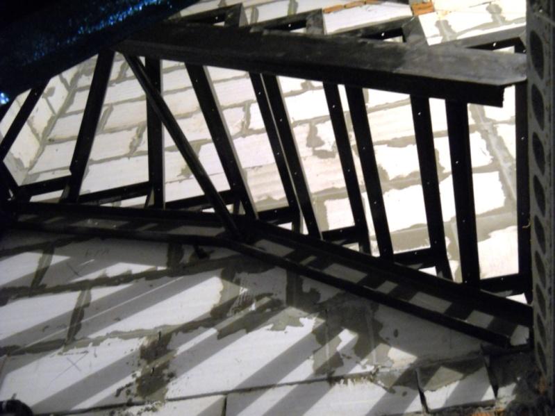 каркаса лестницы 180 градусов