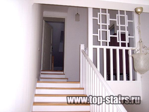 лестница деревянная 2