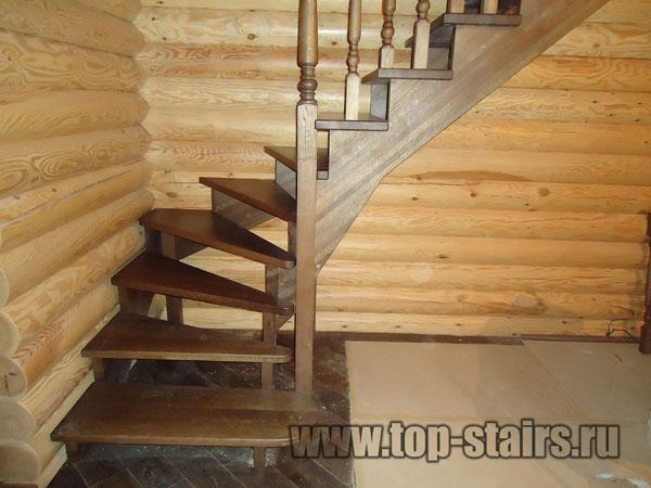деревянная лестница на дмитровке