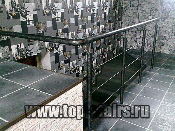 металлические ограждения лестницы